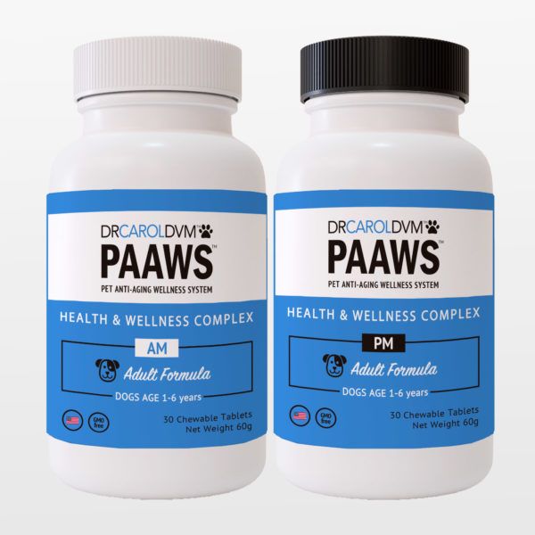 PAAWS Health and Wellness Complex Formula Adult AM PM 1-6
