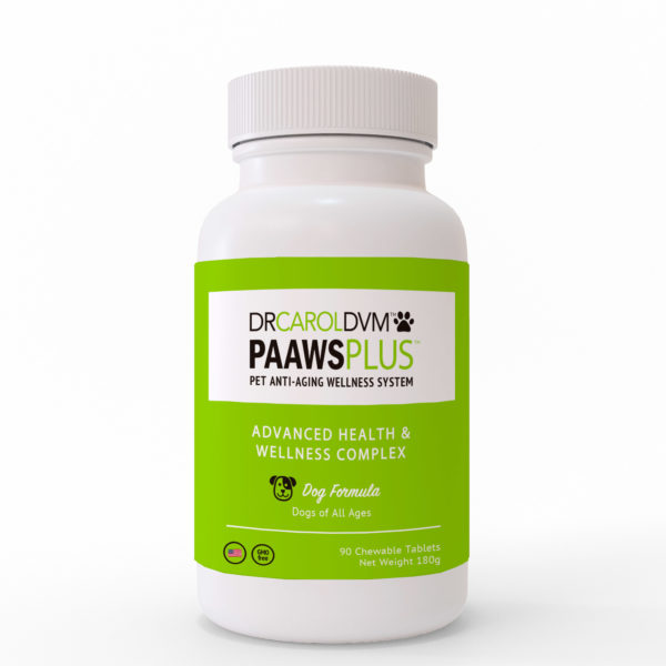 Dr. Carol's PAAWS Plus Advanced Health & Wellness Complex Supplement: Large Dogs: Over 60 Pounds