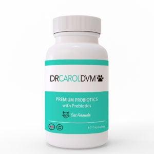 Dr. Carol's Cat Premium Probiotics with Prebiotics