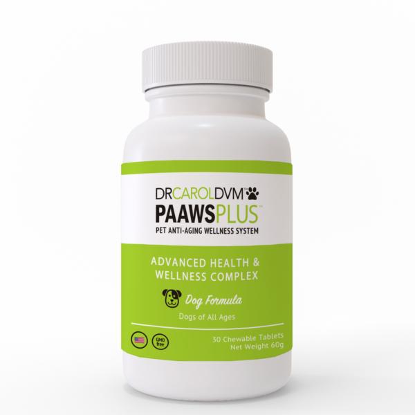 Dr. Carol's PAAWS Plus - Anti Aging Advanced Health & Wellness Complex FS